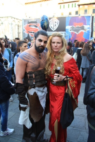Khal Drogo and Cersei - GOT